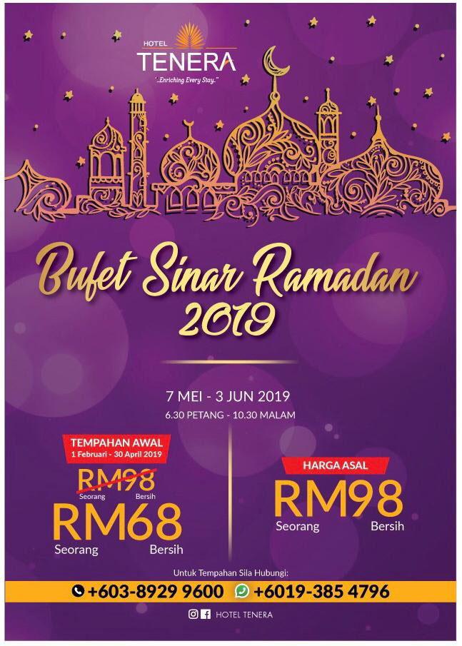 'Bufet Sinar Ramadan 2019'
