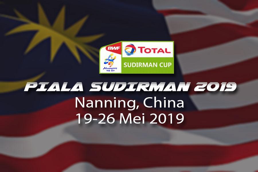 Senarai pemain Piala Sudirman 2019