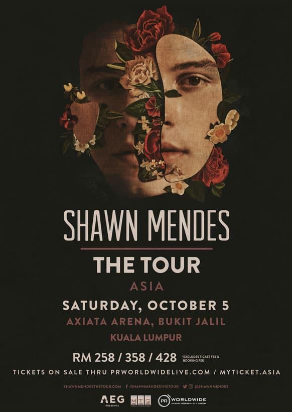 Shawn Mendes jelajah Axiata Arena