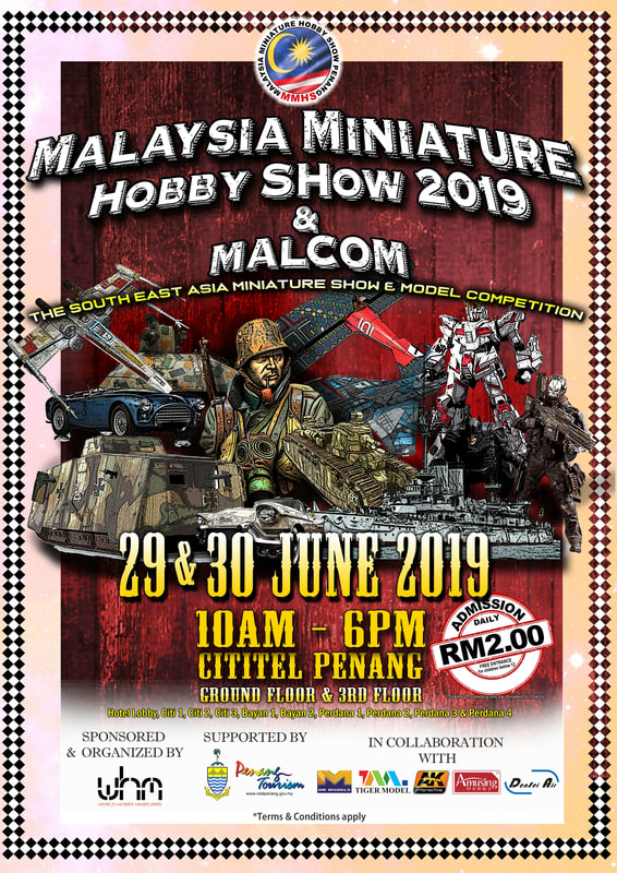 Pameran Miniatur Malaysia & MALCOM 2019
