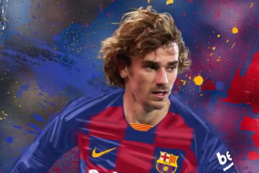 Antoine Griezmann berhijrah ke Barcelona