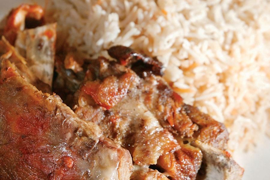 Nasi Arab Mandy Kambing