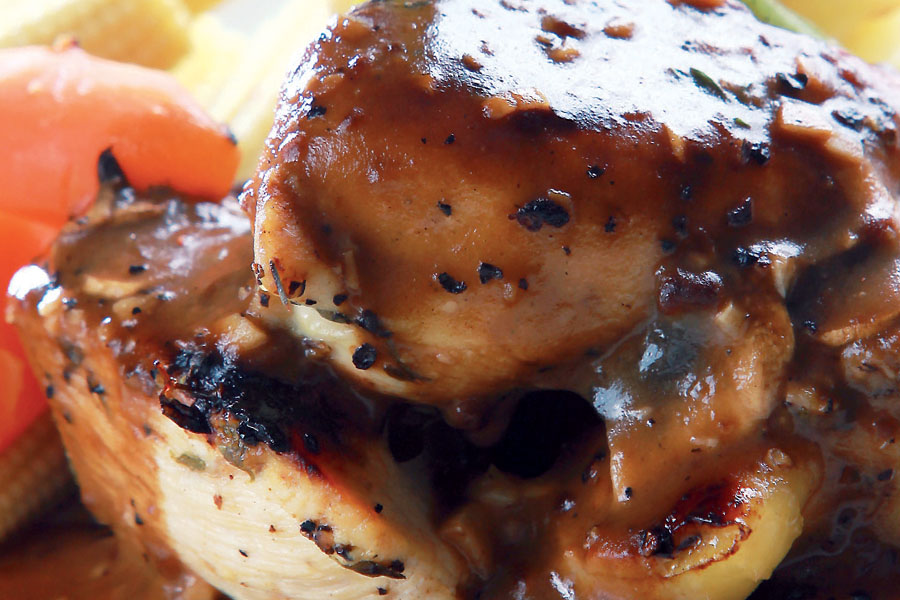 Ayam Black Pepper