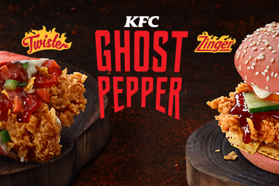KFC Ghost Pepper