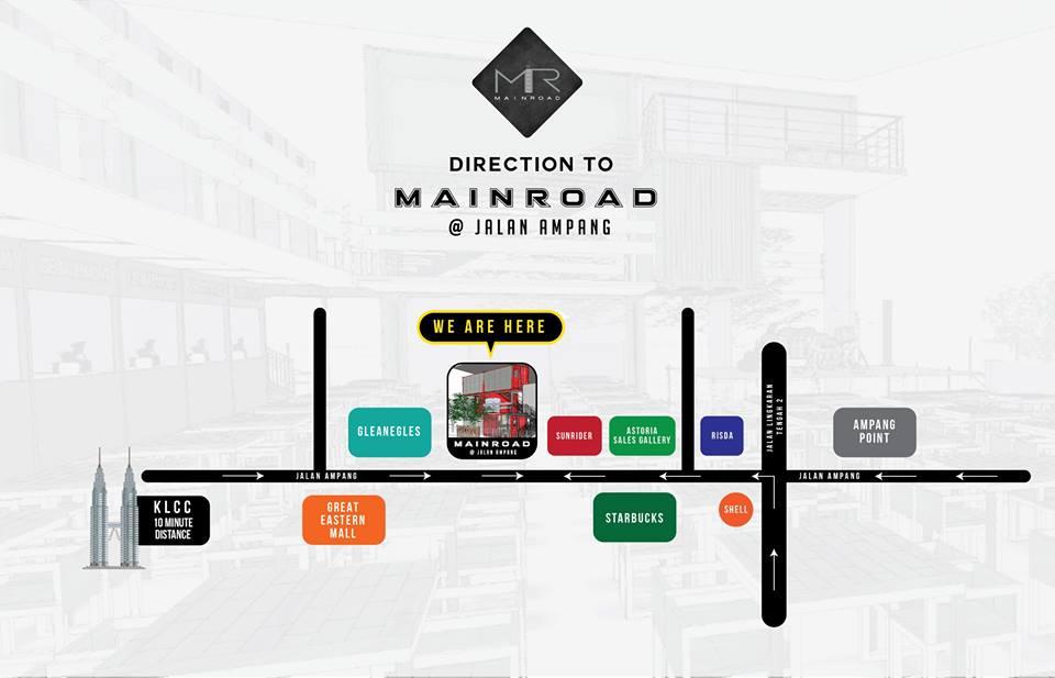Mainroad Jalan Ampang