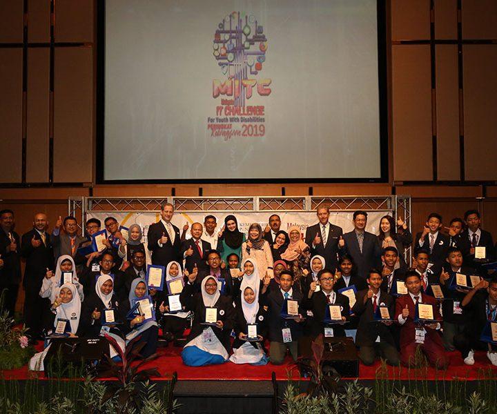 KLCCBEA berganding bahu menyokong dan menjadi tuan rumah Cabaran IT Malaysia (MITC) untuk Belia Kelainan Upaya 2019