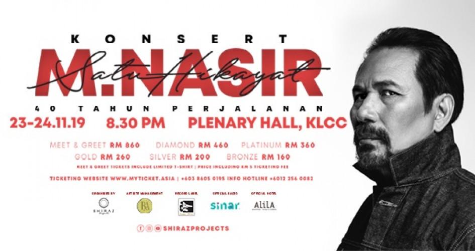 Konsert M. Nasir Satu Hikayat