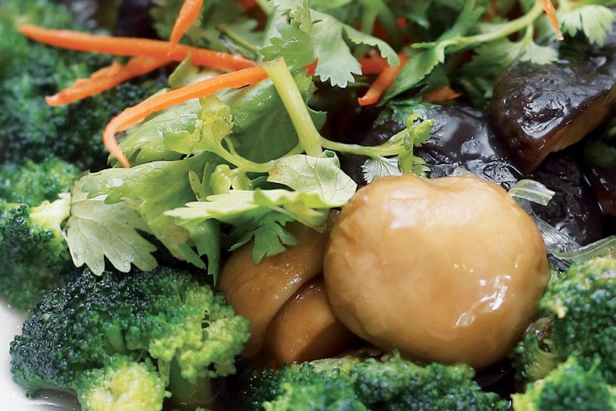 Brokoli Masak Cendawan