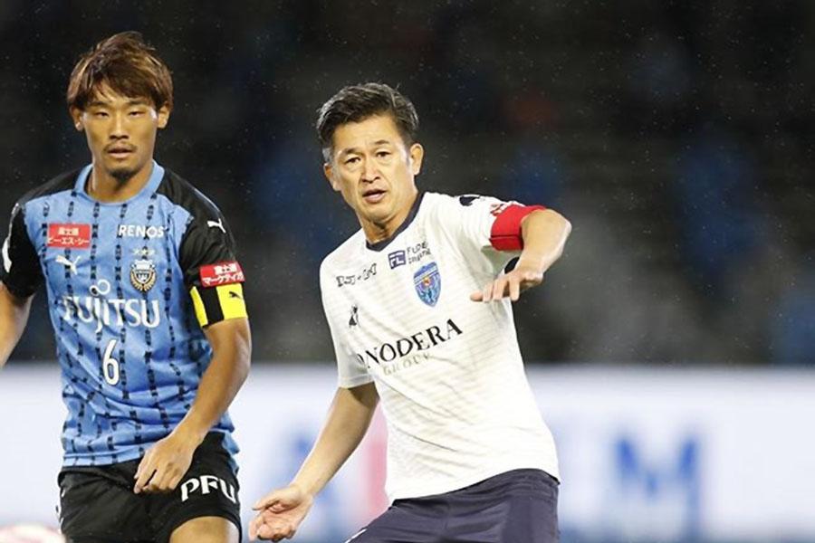 pemain tertua beraksi di liga Jepun