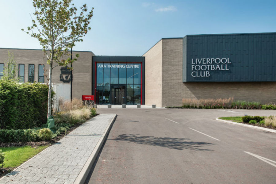 Pusat latihan Liverpool